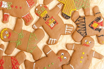 Gingerbread Men Background
