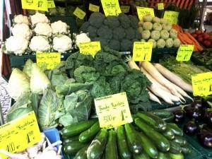 Grünes auf dem Bonner Markt  Foto: Freitag-Ziegler