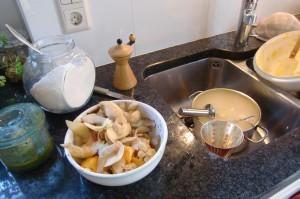 Chaos in meiner Küche Foto: Freitag-Ziegler
