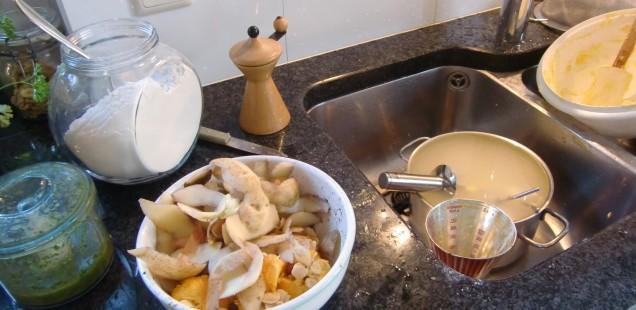 Küchenchaos mit Kürbisgnocchi