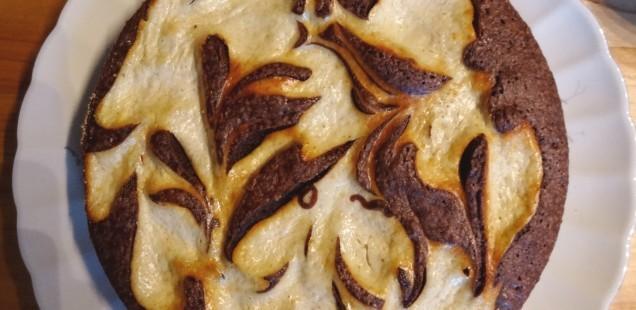 Schnelle Schoko-Käsekuchen-Kunst zum Angeben