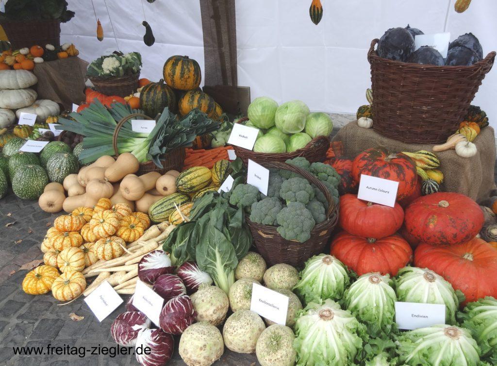 Saisonales Gemüse aus der Region