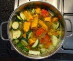 Schnelle Gemüsesuppe