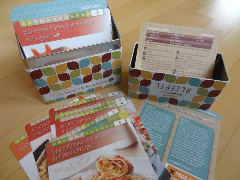 Das (wahrscheinlich) nachhaltigste Kochbuch der Welt