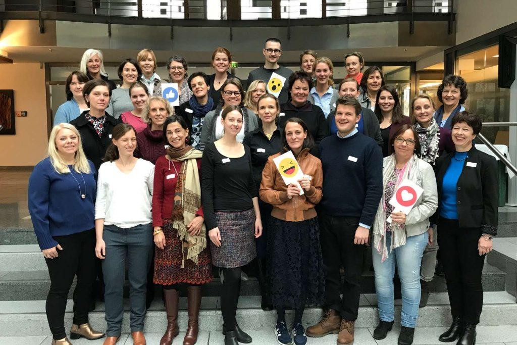 Teilnehmer beim VDOE-Treffen der Netzwerke Public Relations und Wirtschaft