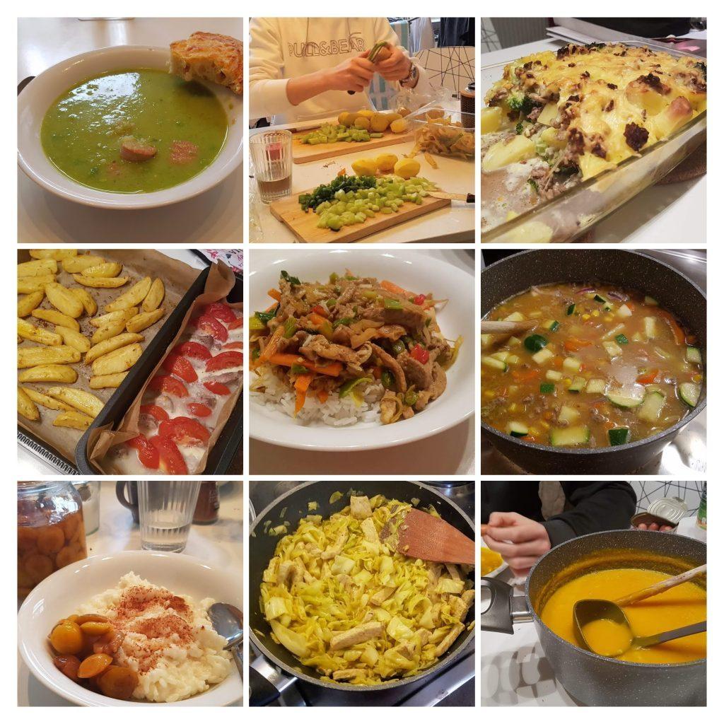 Neun Beispiele für gesunde Studentenküche