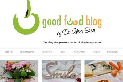 Screenshot Goodfoodblog