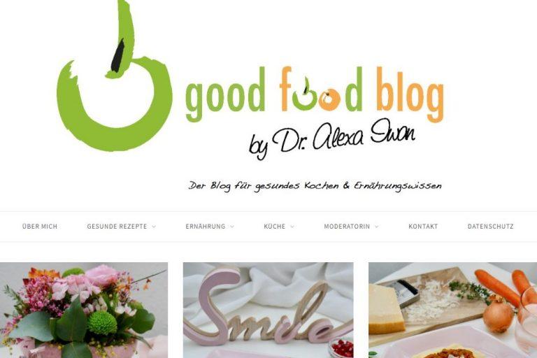 Screenshot Goodfoodblog