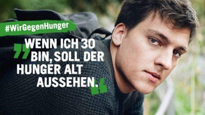 Welthungerhilfe Spendenaktion
